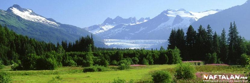 Прекрасная погода в горах Нафталана